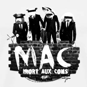 Badge MAC B&W - T-shirt Premium Homme
