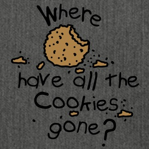Where have all the cookies gone? Sweatshirts - Skuldertaske af recycling-material