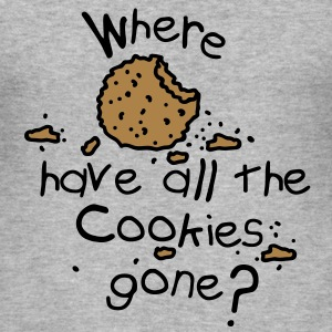 Where have all the cookies gone? Sweatshirts - Herre Slim Fit T-Shirt