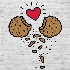 Cookies in Love Sweat-shirts - Débardeur Femme marque Bella