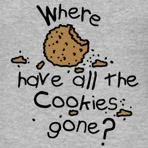 Where have all the cookies gone? Sudadera - Camiseta ajustada hombre