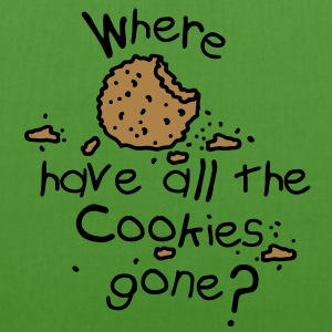 Where have all the cookies gone? Pullover bambini - Borsa ecologica in tessuto