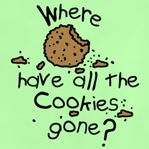 Where have all the cookies gone? Barnegensere - Baby-T-skjorte