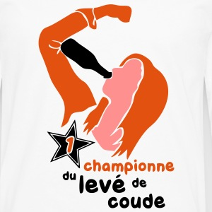 championne leve coude2 Tee shirts - T-shirt manches longues Premium Homme