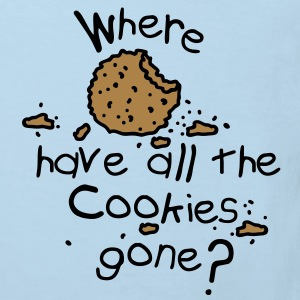Where have all the cookies gone? Baby body - Kinderen Bio-T-shirt