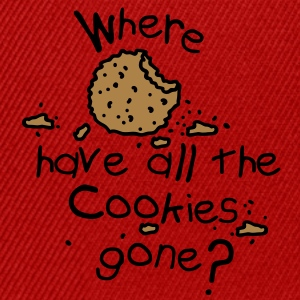 Where have all the cookies gone? Forklæder - Snapback Cap