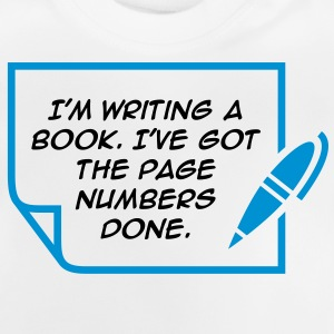 Writing A Book 1 (2c)++ Kinder T-Shirts - Baby T-Shirt