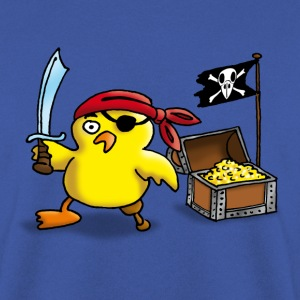 pirate_chick_a Shirts - Men's Sweatshirt