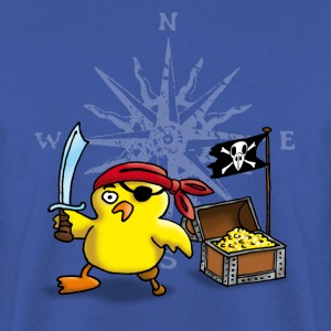 pirate_chick_d Shirts - Men's Sweatshirt