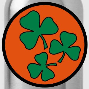 3 colors - Kleeblatt Irland Sankt Patricks Day Shamrock Ireland Saint Felpe - Borraccia