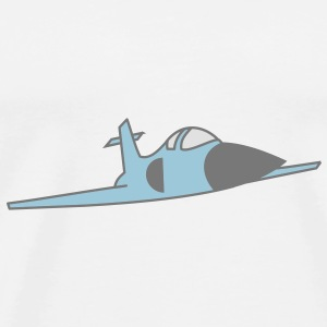 fighter jet Tassen - Mannen Premium T-shirt
