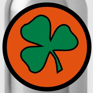 3 colors - Kleeblatt Irland Sankt Patricks Day Shamrock Ireland Saint Jacks - Drinkfles