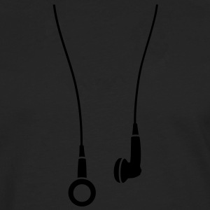 Earphones T-Shirts - Men's Premium Longsleeve Shirt