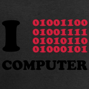 I Love Computer T-Shirts - Men's Sweatshirt by Stanley & Stella