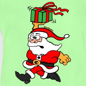 Santa Claus in a Hurry Bags  - Baby T-Shirt