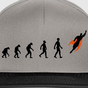 Evolution, Superheld, Held, Darwin, - Snapback Cap