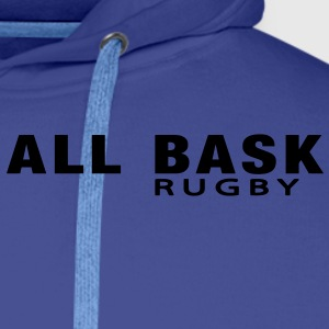 ALL BASK rugby (1c)   - Sweat-shirt à capuche Premium pour hommes