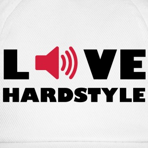 Love Music Hardstyle Music Audiophile speakers amplifier volume T-Shirts - Baseball Cap