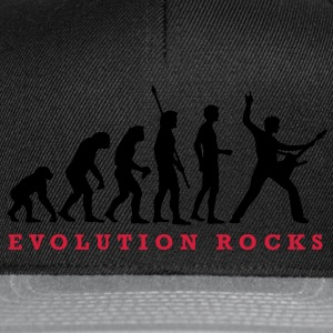 evolution_rocks_a_2c Kinder T-Shirts - Snapback Cap