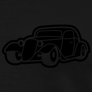 1 colors - Hot Rod Oldtimer Custom Cars Automobil Tuning Barntröjor - Premium-T-shirt herr