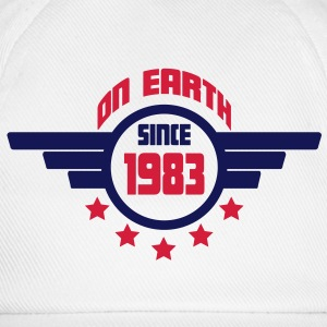 1983_on_earth Camisetas - Gorra béisbol