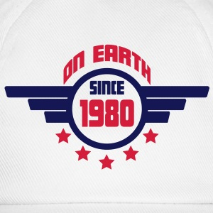 1980_on_earth Camisetas - Gorra béisbol