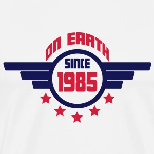 1985_on_earth Sweatshirts - Herre premium T-shirt