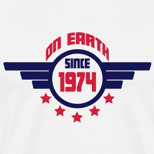 1974_on_earth Sweatshirts - Herre premium T-shirt
