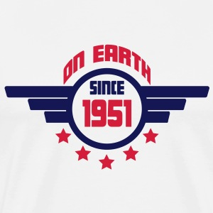 1951_on_earth Sweatshirts - Herre premium T-shirt