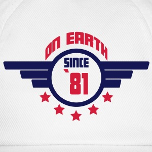81_on_earth Camisetas - Gorra béisbol