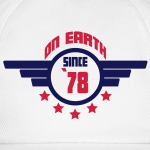 78_on_earth Camisetas - Gorra béisbol