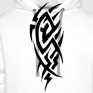 tribal tattoo T-Shirts - Men's Premium Hoodie