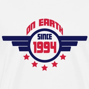 1994_on_earth Sweatshirts - Herre premium T-shirt