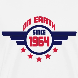 1964_on_earth Sweatshirts - Herre premium T-shirt