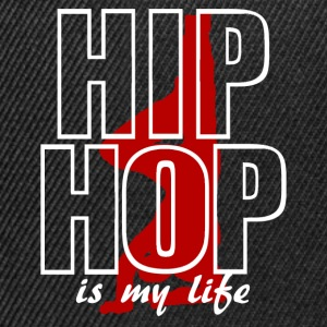hip hop is my life T-shirts - Snapback Cap