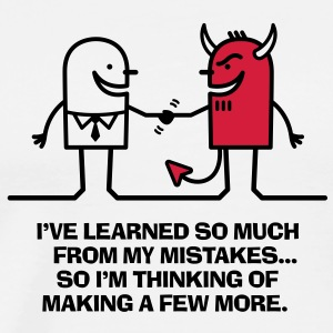 Learned From Mistakes 1 (2c)++ Delantales - Camiseta premium hombre