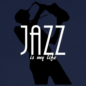 jazz is my life Väskor - Basebollkeps