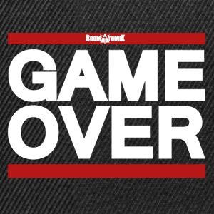 T-shirt homme Game over  - Casquette snapback