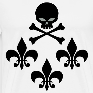 skull_lys Tee shirts manches longues - T-shirt Premium Homme