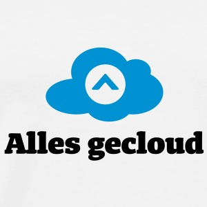 Alles in der Cloud!  - Männer Premium T-Shirt