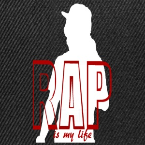rap is my life Sacs - Casquette snapback