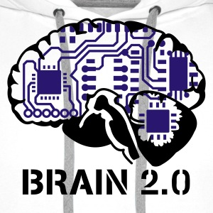 brain 2.0 :-: - Premium hettegenser for menn
