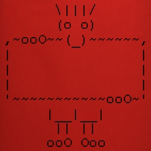 ascii art: troll + your text :-: - Fartuch kuchenny