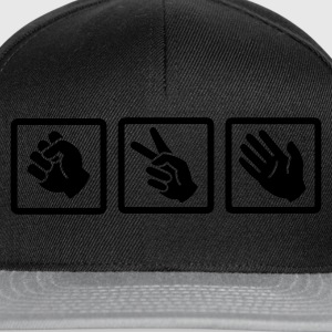 rock paper scissors v2 :-: - Snapback Cap