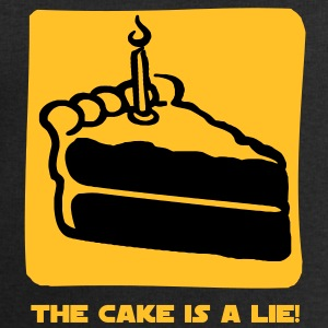 The Cake is a Lie T-Shirts - Men's Sweatshirt by Stanley & Stella