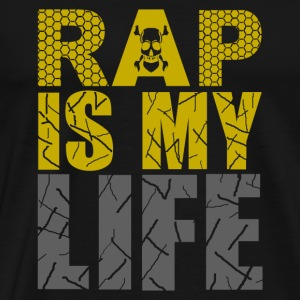 rap is my life Bags  - Men's Premium T-Shirt