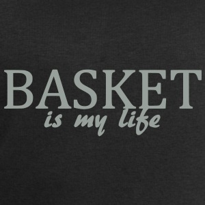 basket is my life Bags  - Men's Sweatshirt by Stanley & Stella