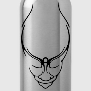 Gnome, gnome, magic pan, occult, pagan, psychic, Goa, Devil, style, gnome, pan, magic, occult, Faun, psy, goa, wicca, fairy, maya T-Shirts - Water Bottle