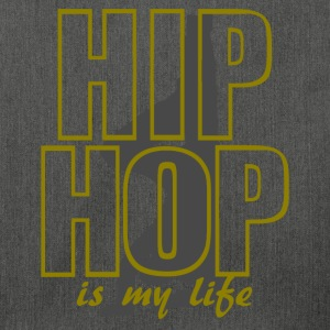 hip hop is my life Gensere - Skulderveske av resirkulert materiale