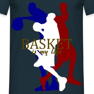 basket is my life Sweaters - Mannen T-shirt